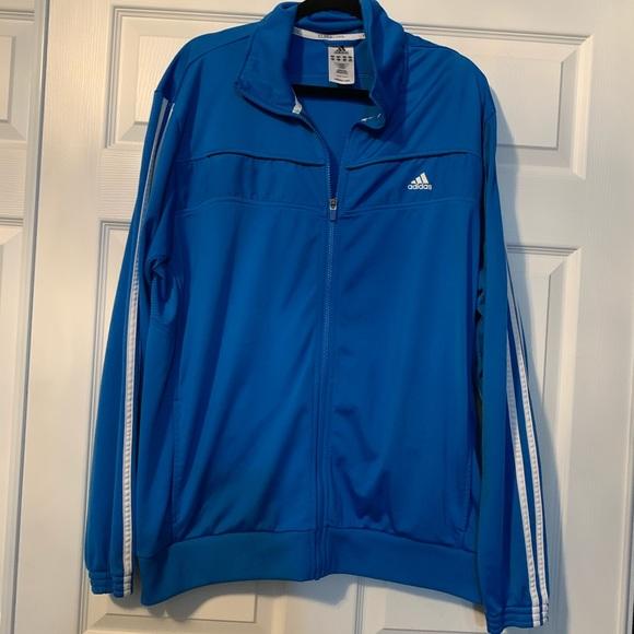 adidas Other - Men's adidas blue zip up jacket